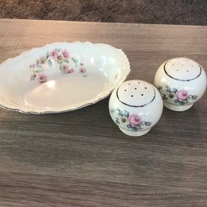 Virginia Rose China made by Homer Laughlin